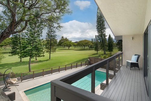 Big Island Golf Course Homes