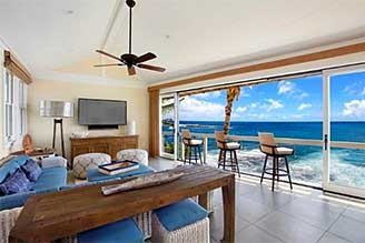 Kauai beachfront home