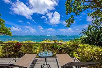 Kauai oceanfront house