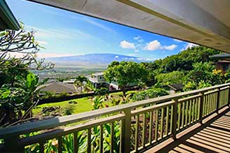 Maui mountain view