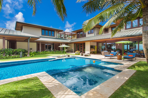 Big Island home with pool